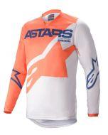 Alpinestars Jersey RACER BRAAP Orange/Grey/Blue
