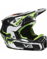 Fox V3 RS Ryke Helmet Chrome