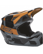 Fox V3 RS Riet Helmet Black Gold