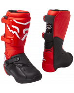 Fox Youth Comp Boot Buckle Fluorescent Red
