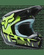 Fox Youth V1 Trice Helmet Teal