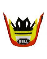 BELL Moto-9 Mips Visor Prophecy Gloss Yellow/Orange/Black