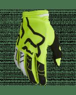 Fox 180 Skew Glove Fluorescent Yellow