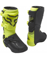 Fox Youth Comp Boot Buckle Fluorescent Yellow