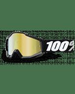 100% ACCURI GOGGLE TORNADO MIRROR GOLD