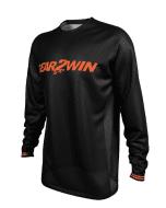 Gear2win Youth Jersey Black Fluo Orange