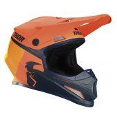 Thor Helmet Sector Racer Orange Midnight