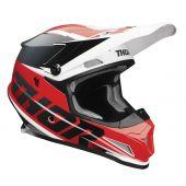 Thor Helmet Sector Fader Red Black