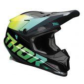 Thor Helmet Sector Fader Acid Teal