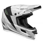 THOR Helmet Reflex Cast White Black