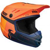 Thor Youth Helmet Sector Racer Orange Midnight