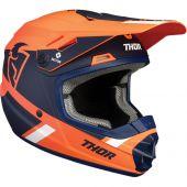 Thor Youth Helmet Sector Split Mips Orange Navy