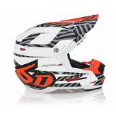 6D Helmet ATR-2Y Havoc Neon Orange/White