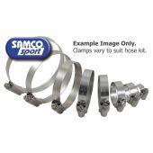SAMCO CLAMP KIT RADIATOR HOSE STAINLESS STEEL | CKHUS43
