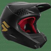 Shift Youth Whit3 Label Helmet Black Gold
