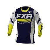 FXR Revo MX Jersey Midnight/White/Yellow