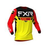 FXR Helium MX Jersey Yellow/Black/Red
