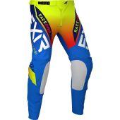 FXR Helium MX Pant Blue/Hi Vis/Red
