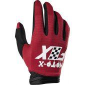 Fox Dirtpaw Glove CZAR Cardinal