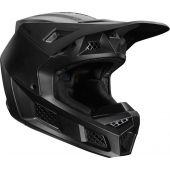 Fox V3 Solids Helmet Matte Black