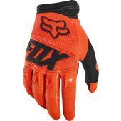 Fox Youth Dirtpaw Glove Race Fluo Orange