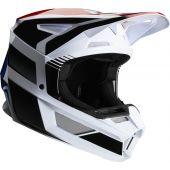 Fox V2 HAYL Helmet Blue Red