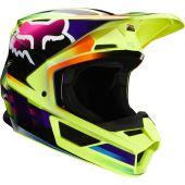 Fox V1 GAMA Helmet Yellow