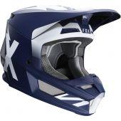Fox Youth V1 PRIX Helmet Navy