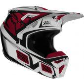 Fox V3 IDOL Helmet Light Grey