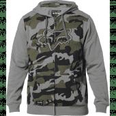 Fox Destrakt Camo Zip Fleece Grey Camo