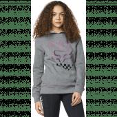 Fox Womens Richter Pullover Fleece Heather Graphite
