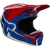 Fox V3 RS WIRED Helmet Flame Red