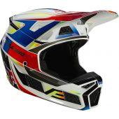 Fox V3 R3 PGMNT Helmet Multi-colour