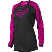 Fox Women 180 DJET Jersey Black/Pink