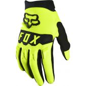 Fox Youth Dirtpaw Glove Fluo Yellow