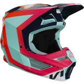 Fox Youth V1 VOKE Helmet Aqua