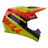 BELL Moto-9 Mips Helmet Prophecy Gloss Yellow/Orange/Black
