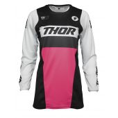 Thor Women Jersey Pulse Racer Black Pink