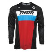 Thor Youth Jersey Pulse Racer Black Red Blue