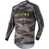 Alpinestars Jersey Youth Racer Tactical Black/Camo/Yellow