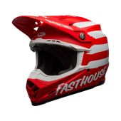 BELL Moto-9 Mips Helmet Signia Matte Red/White Size