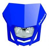 POLISPORT HEADLIGHT LMX BLUE YAM98
