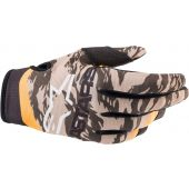 Alpinestars Glove Radar Sand/Camo/Tangerine