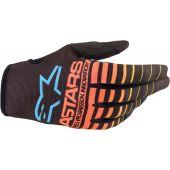 Alpinestars Glove Radar Black/Yellow/Coral