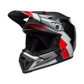 BELL MX-9 Mips Helmet Twitch Replica Matte Black/Red/White