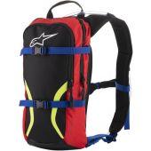 Alpinestars iguana hydration backpack black/blue/red/yellow