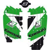 BLACKBIRD DREAM 3 RADIATOR LOUVER STICKERS KAWASAKI