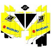 BLACKBIRD RADIATOR LOUVER STICKER DREAM 4 RMZ250 19