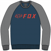 Fox apex crew fleece dark indigo