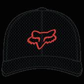 Fox lithotype flexfit 2.0 hat black orange